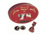 Boîte Ovale Chocolats au Coeur de Café
