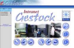 Logiciel INTRANET de consultation des stocks gérés par G-STOCK