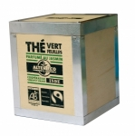 Thé Vert (en feuilles, parfumé au jasmin) bio et équitable 100g DLUO:04/2012 (dernier stock) Alter Eco