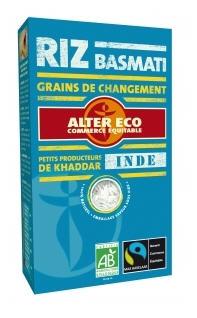 Riz Basmati Variété Native Tarori Basmati bio et équitable 500g - Temps de cuisson : 15 minutes Alter Eco