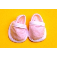 Chaussons mignons rose