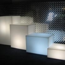Compositions décoratives   Cube lumineux