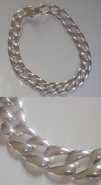 Acheter Colliers > Collier Argent > Gros Collier Argent Massif