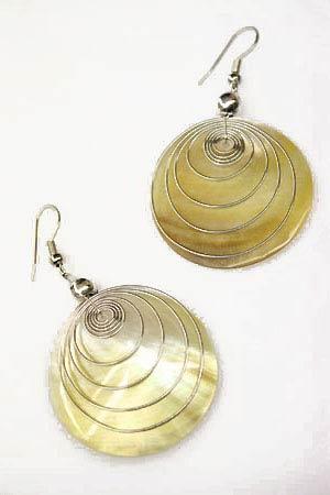 Bijoux d'oreilles artisanaux [PAP005]