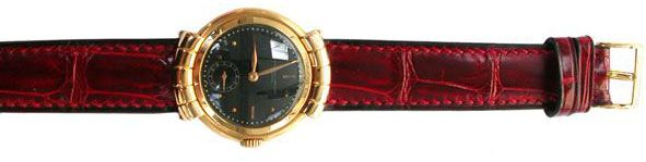 Bracelet de montre Alligator rouge