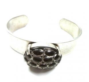 Bracelet argent Reptile Carry Simone
