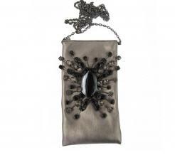 Idées cadeaux > Pochette soirée papillon agathe noire