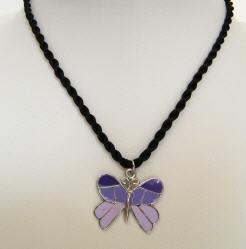 Acheter Collier enfant pendentif papillon