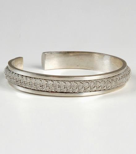 Bracelets ciselés - Bracelet ciselé argent de Diré Dawa