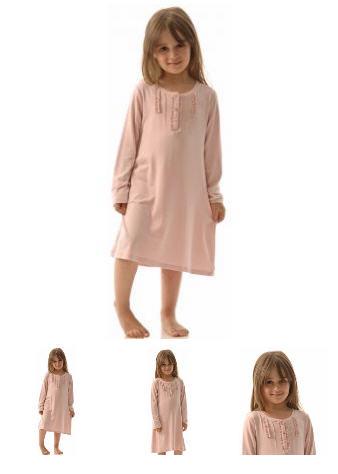 Chemise de nuit enfant fille manches longues Réf. : 305