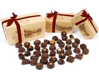 Acheter Ballotin de chocolats assortis noir