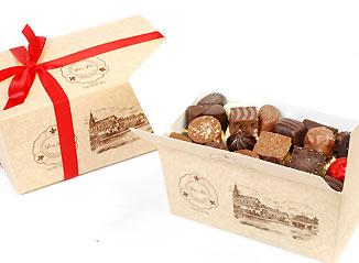 Acheter Ballotin de chocolat assortis Noir-lait-blanc