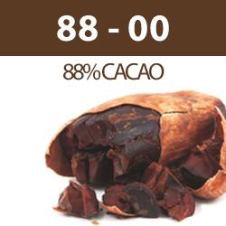 Tablette de chocolat 88-00 (88% cacao - pepites)