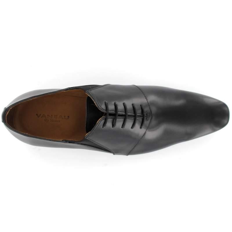 Chaussure cuir Vaneau, chaussures homme semelle cousue