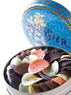 Les pétales de chocolats