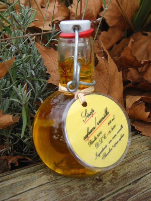 Acheter Sirop de safran / vanille bourbon