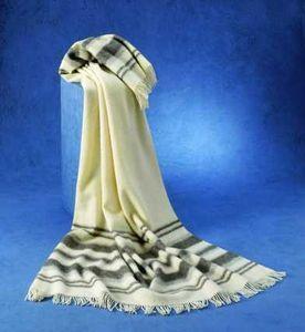 Plaids en pure laine vierge naturelle