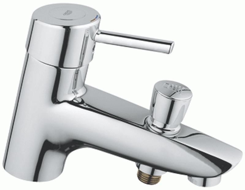Ремонт смесителя для ванной однорычажного