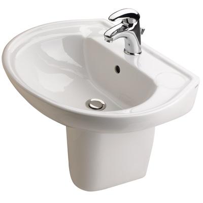 lavabo salle de bains pack lavabo mitigeur city 2 semi colonne buy l. Black Bedroom Furniture Sets. Home Design Ideas