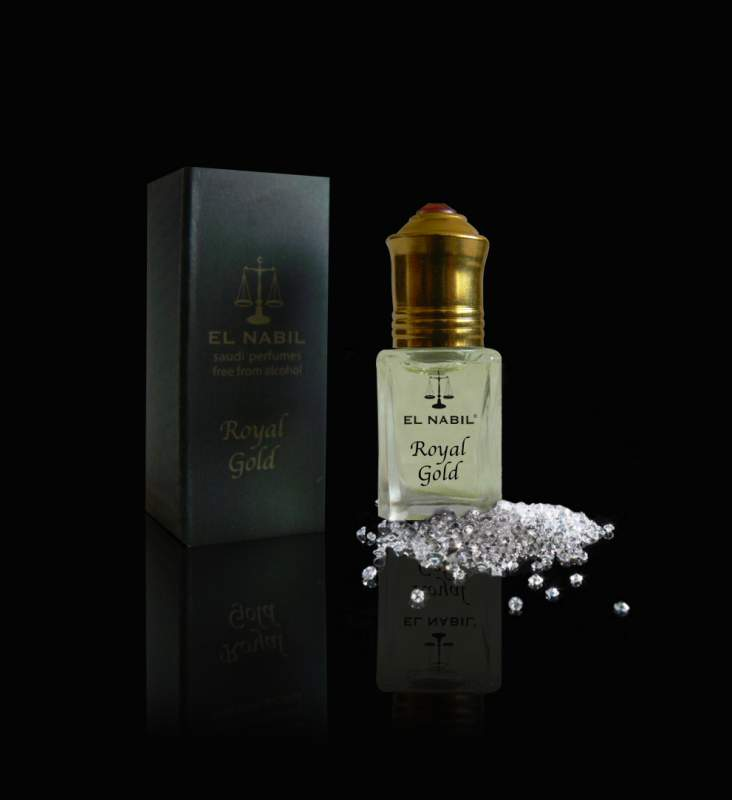 Parfum El Nabil : Royal Gold 5ml