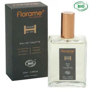 Parfums Homme - Eau De Toilette Homme - A l'Huile Essentielle de Cèdre Biologique - Référence : FL0946-0000