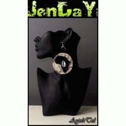 Boucles d'oreilles Arricans Queens