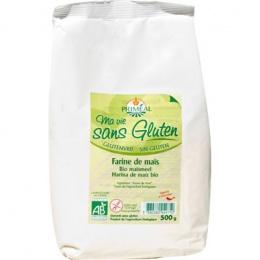 Farine de maïs bio - Référence : PRI001
