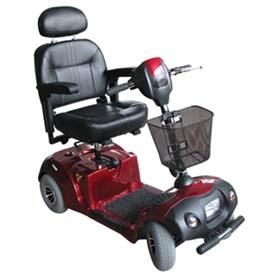 Fauteuil roulant électrique ou scooter