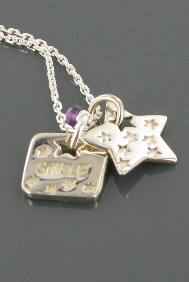 Collier Silver smile