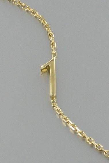 Acheter Bracelet Gold Number 1 or