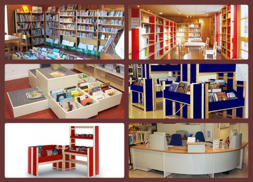 Aménagement de bibliothèques