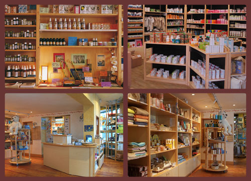 Aménagement de magasins « bio »