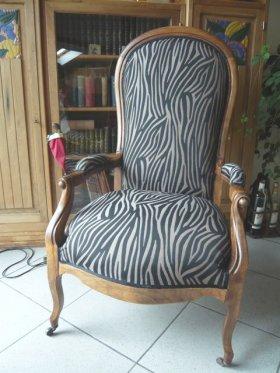 Un kit fauteuil Voltaire