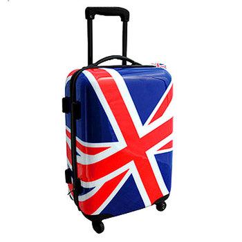 Valise cabine a roulette drapeau anglais