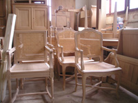 Fauteuil fabrication artisanale