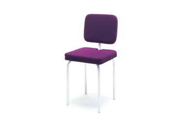 Chaise structure bois et métal