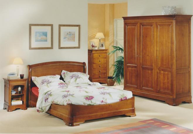 Acheter Chambres Amboise merisier massif