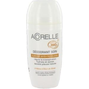 Acheter Deodorant bio à bille anti-repousse - 50ml Acorelle - Référence : ACO007