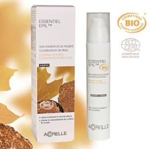 Acheter Essentiel Epil Soin corps inhibiteur de pilosité extrait de truffe noire - 75ml Acorelle - Référence : ACO021