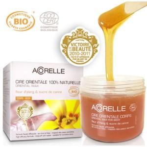 Acheter Cire Orientale Fleur d'Ylang et sucre de canne - 300gr Acorelle - Référence : ACO019