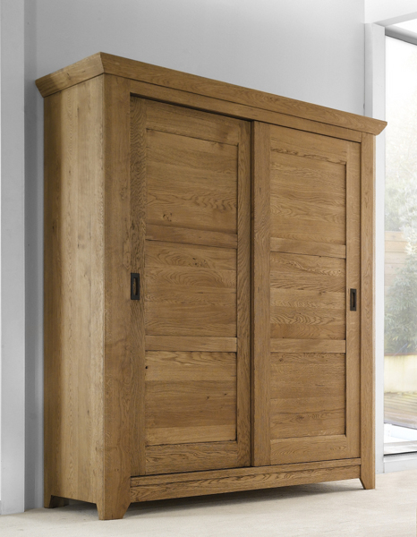 Armoire 2 portes ushuaia am buy armoire 2 portes for Armoire penderie 2 portes coulissantes