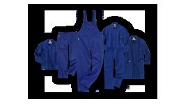 Vêtements de protection contre la chaleur et les flammes
