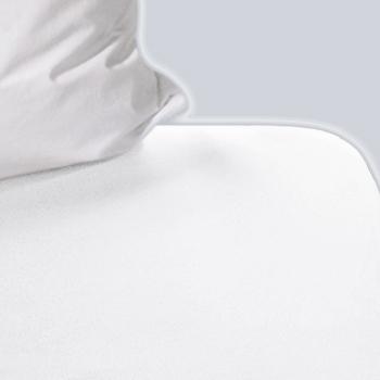 Drap housse blanc