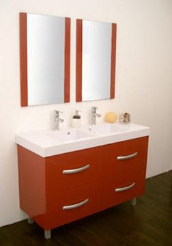 Meuble salle de bain java 120 cm double vasques buy for Acheter meuble salle de bain