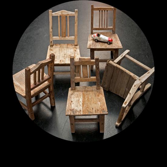 Petite chaise d'école