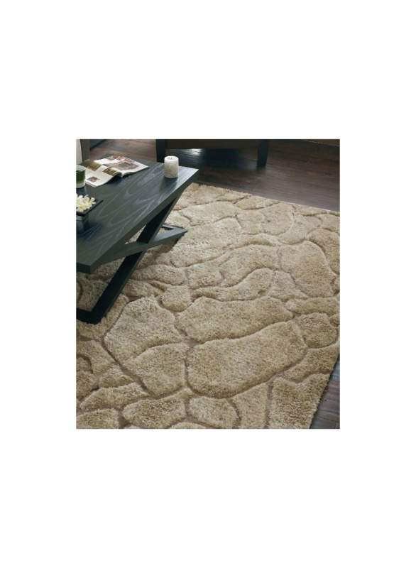 Tapis tufté Mirage naturel