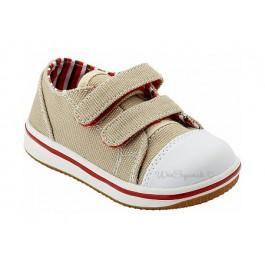 Acheter Chaussures garçons › Tennis Beige - Wee Squeak