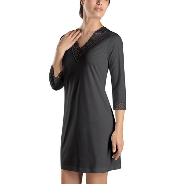 Chemise de nuit de luxe Hanro (blanc, noir)