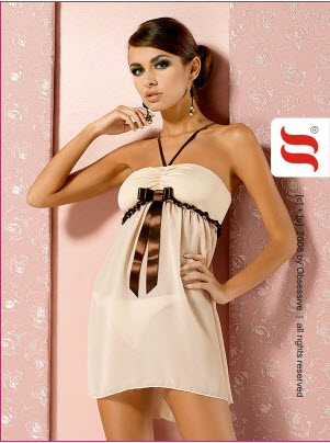 Nuisette Cappuccino chemise