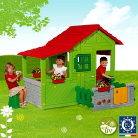 Maison enfant floralie buy maison enfant floralie price for Maison pour enfant jardin